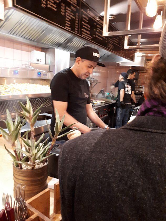 Foto van Keuken bij Nude Burger Club