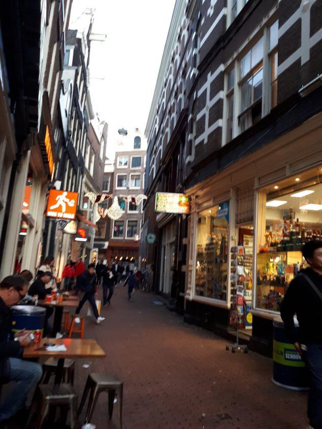 Foto van Kolksteeg Amsterdam