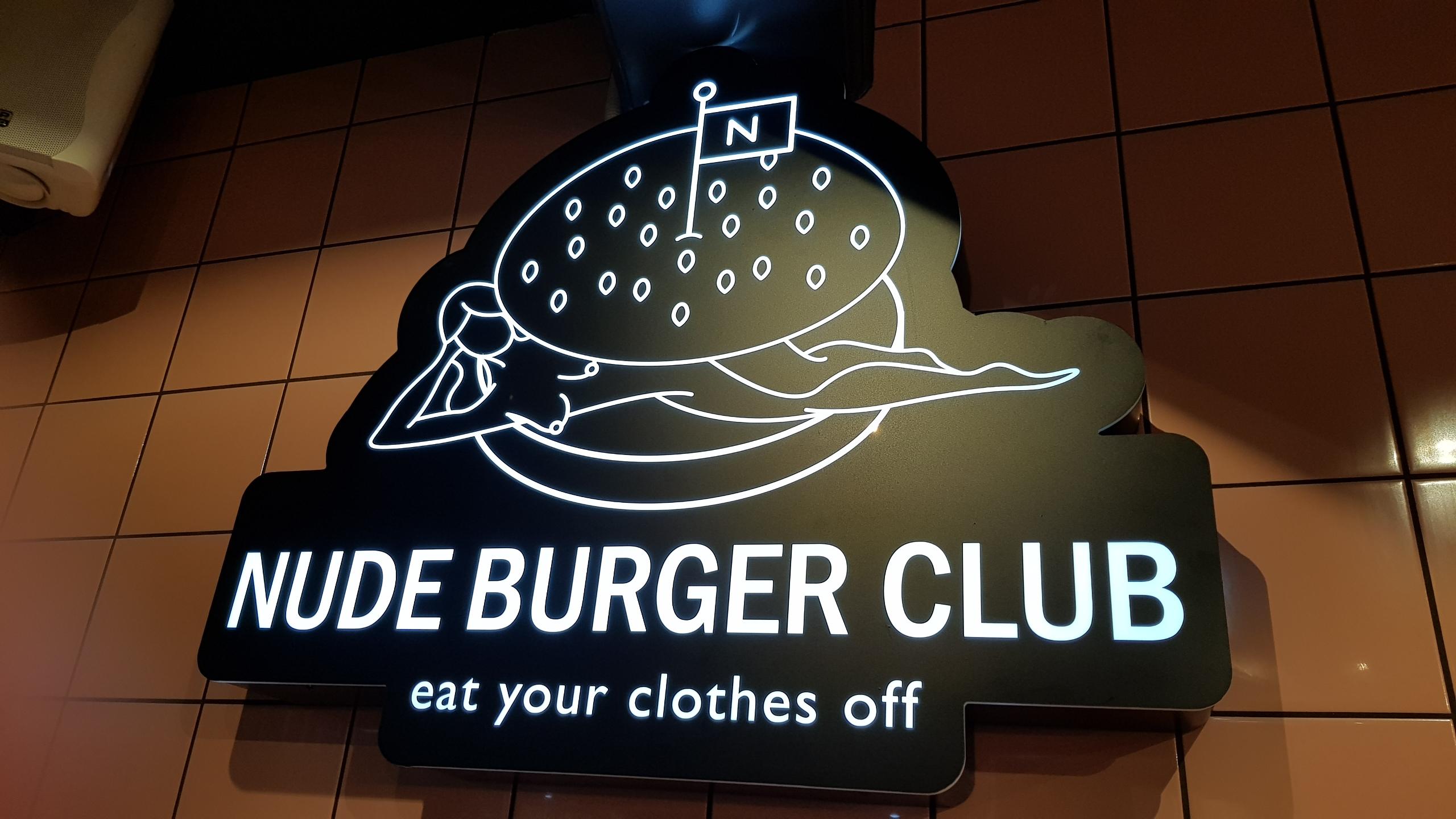 Foto van Nude Burger Club logo
