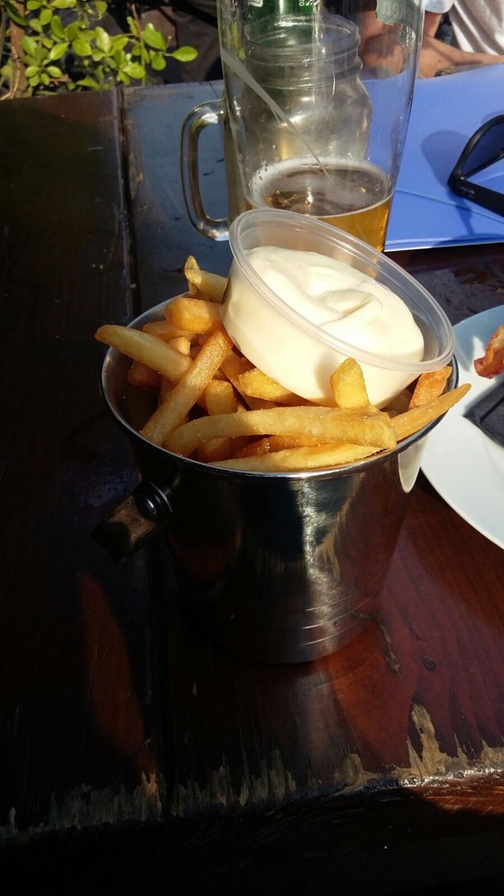 Bar Huf fries picture
