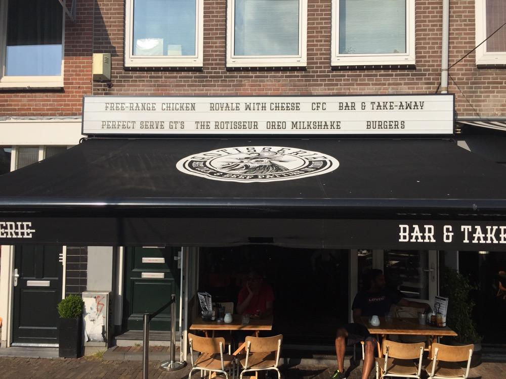 foto Voorgevel Rotisserie Amsterdam