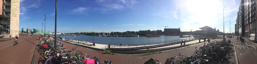 Foto van Uitzicht bij Stadscafe Oosterdok