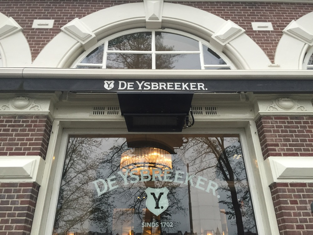 foto van de Voorgevel De Ysbreeker