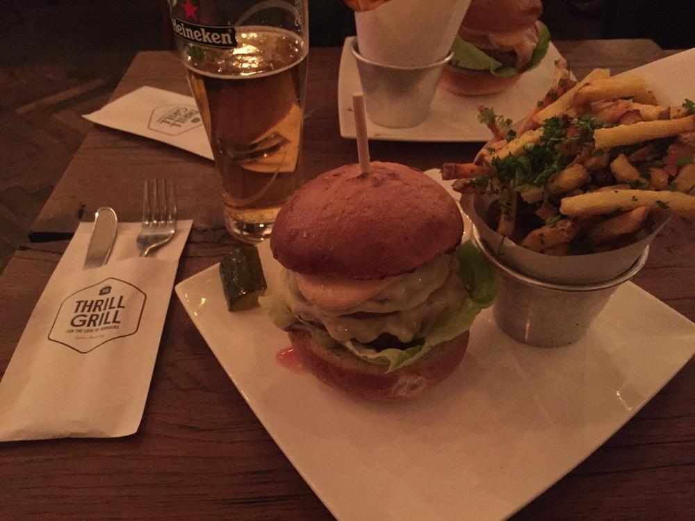 Meat challenge Burger