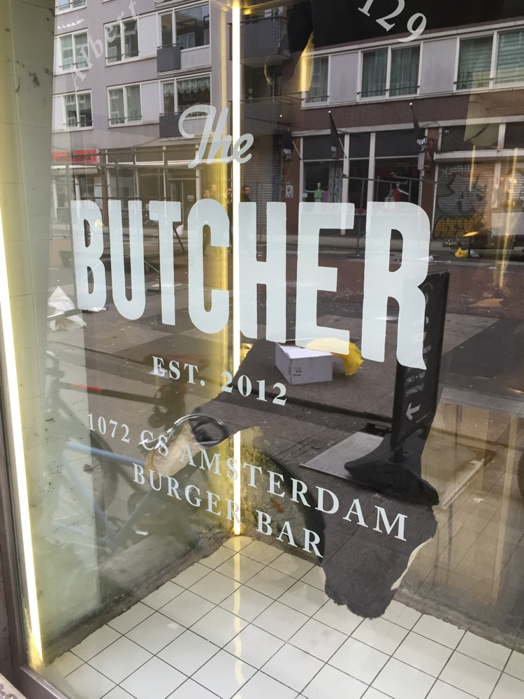 The butcher voorgevel