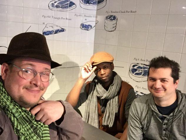 The BurgerBoys selfie