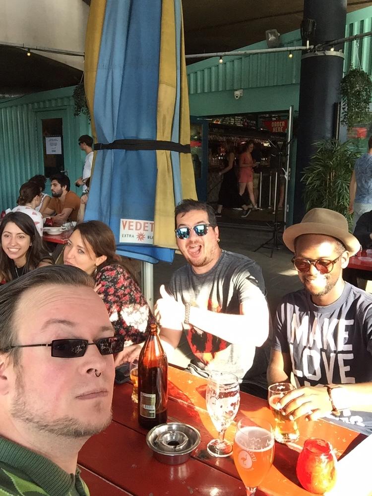 Foto van The BurgerBoys are Seated @ Waterkant