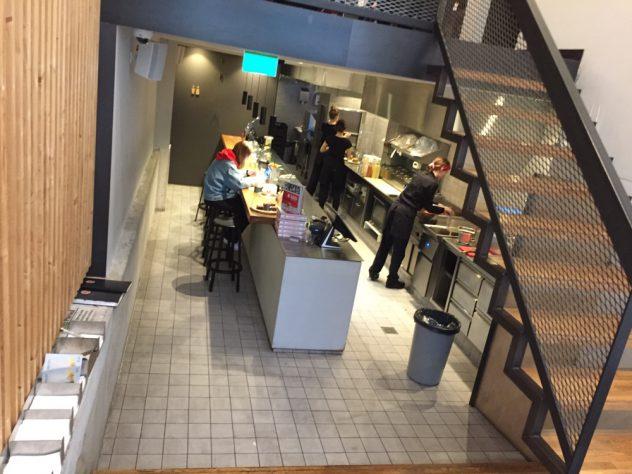 Foto van de keuken @Burgermeester