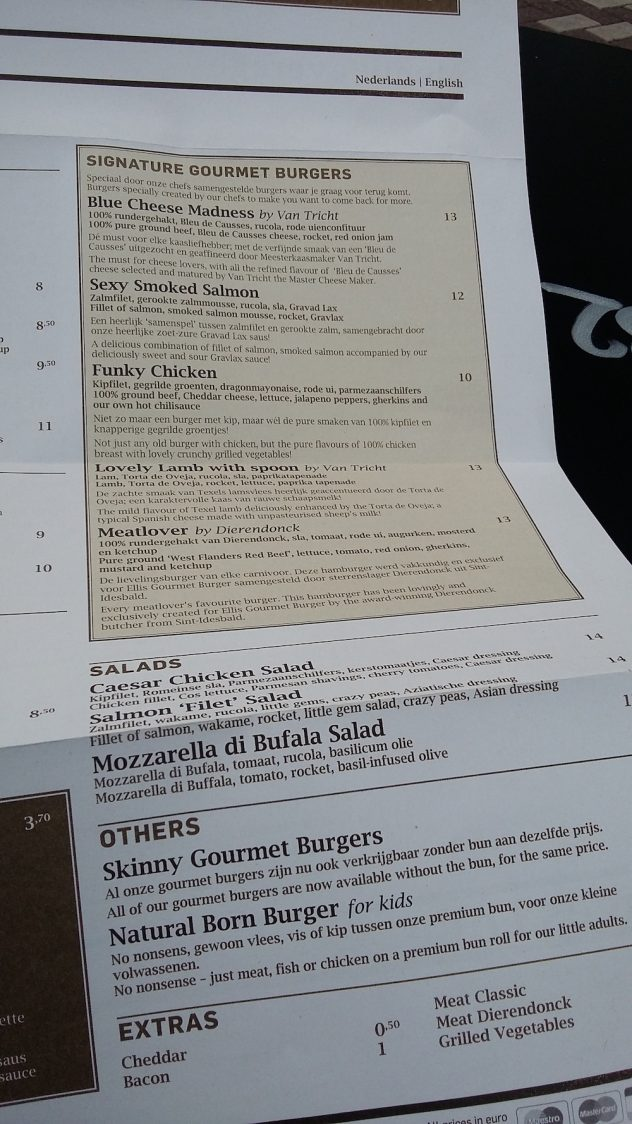 Signature Gourmet Burgers